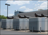 Redundant industrial power and cooling systems at all facilities